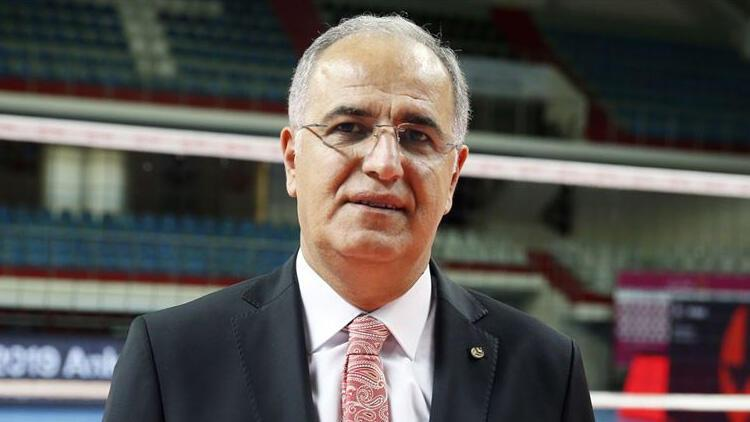 """TVF Başkanı Mehmet Akif Üstündağ: """"Türk voleybolu adına sevindirici pek çok önemli başarıya imza attık"""""""