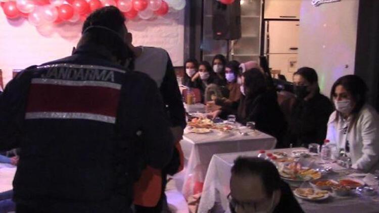 İstanbul Silivri'de villadaki yılbaşı partisine jandarma baskını!