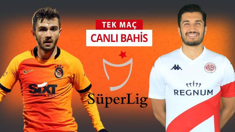 Galatasaray'da 5, Antalyaspor'da 7 eksik! Öne çıkan iddaa tahmini ise...