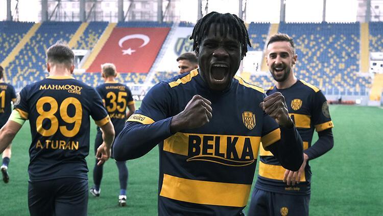 Ankaragücü 3-1 Yeni Malatyaspor (Maçın özeti ve golleri)