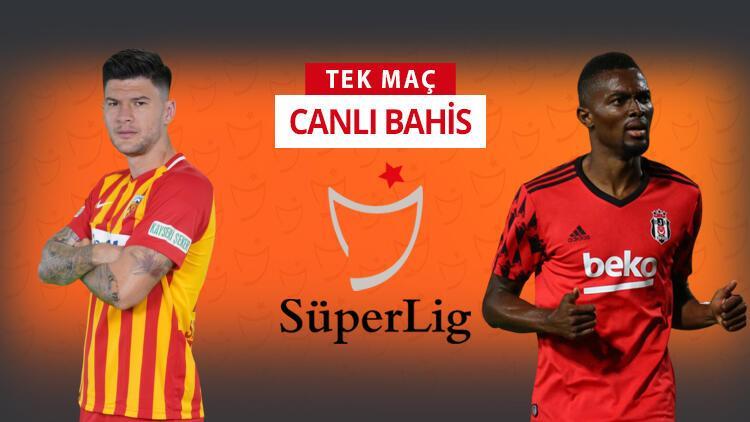 Beşiktaş 4 eksikle Kayseri'ye gitti! Galibiyetlerine verilen iddaa oranı...