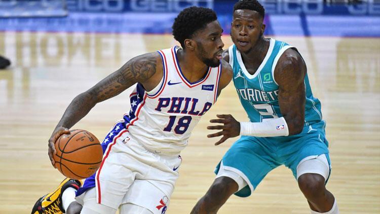 NBA'de gecenin sonuçları | Philadelphia 76ers galibiyet serisini 3 maça çıkardı