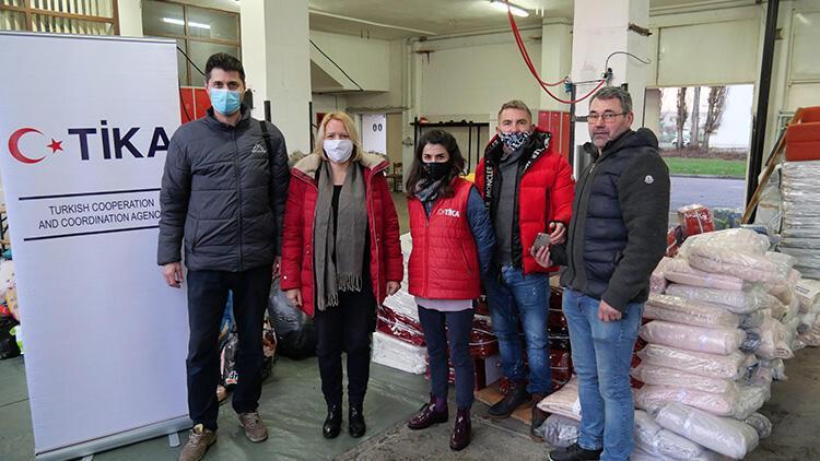 TİKA'dan depremin yaralarını sarmaya çalışan Hırvatistan'a yardım eli