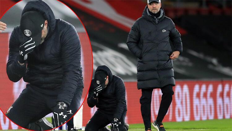 Southampton Liverpool'u devirdi, 'Alplerin Klopp'u gözyaşlarına hakim olamadı