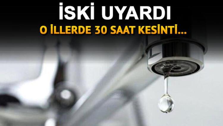 Sular ne zaman gelecek? 5 Ocak Salı günü başlamıştı - İşte İSKİ su kesintisi programı