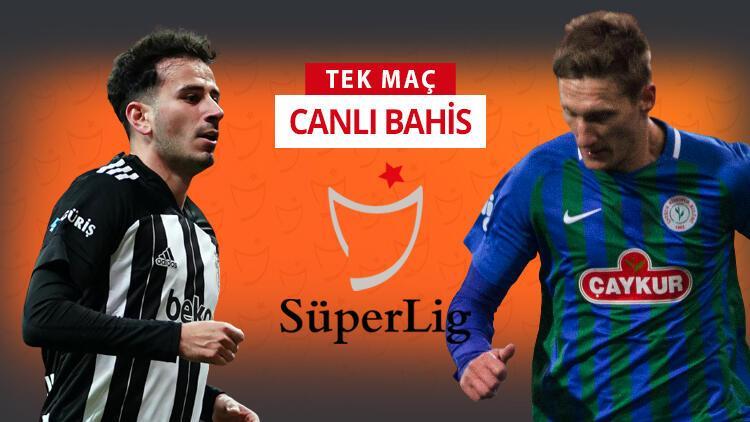 Beşiktaş'a 2 müjde! Rizespor karşısında galibiyetlerine verilen iddaa oranı...