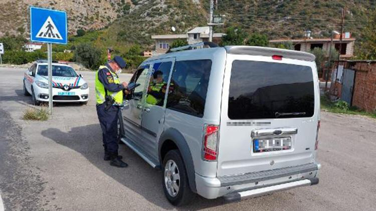 Antalya'da 1 yılda 65 bin sürücüye 33 milyon liralık ceza yazıldı