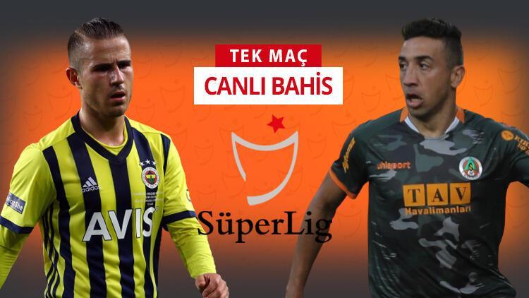 Fenerbahçe'de 5 isim belirsiz! Alanyaspor'un Kadıköy'deki iddaa oranı...