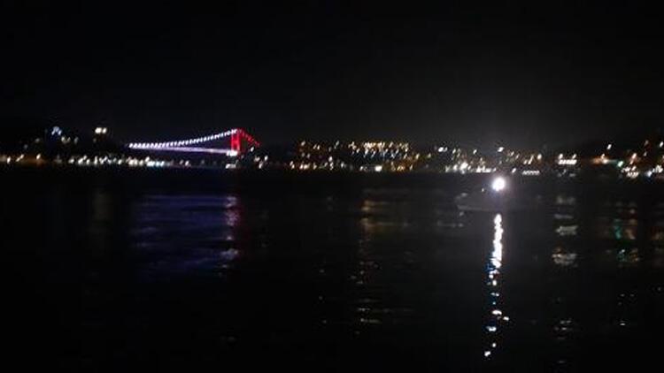 Beşiktaş'ta denize atlayan kişi kayboldu!