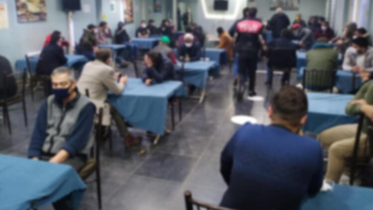 Eskişehir'de kumar oynarken yakalandılar! 291 bin 590 lira ceza...