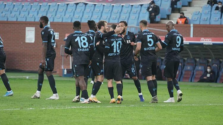 Trabzonspor'da zirve hesapları başladı