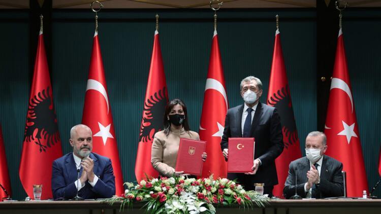 'Arnavutluk ile eğitimde işbirliği'