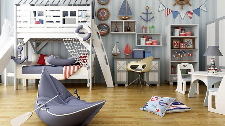 Montessori metoduna göre çocuk odası dekorasyonu
