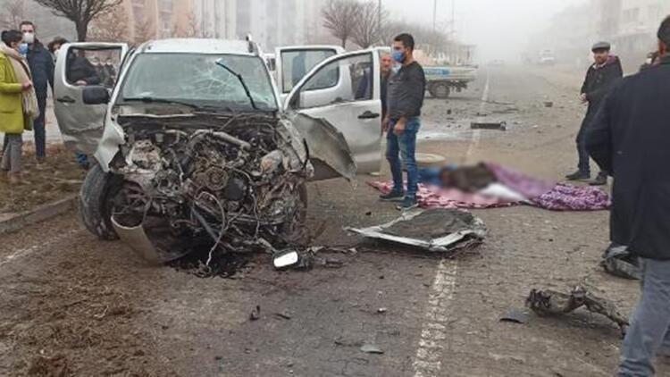 Elazığ'da kamyonetler çarpıştı: 6 yaralı
