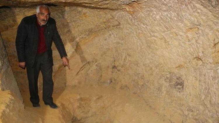 5 bin yıllık yer altı yerleşiminde 'defineci' talanı