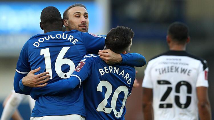 Everton 2 - 1 Rotherham (Cenk Tosun gol attı)