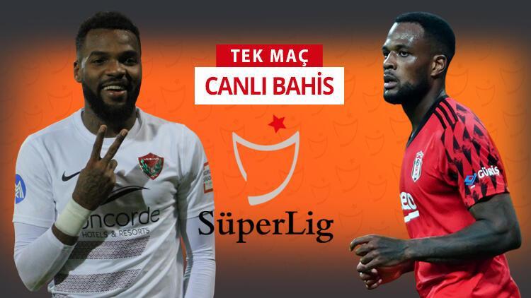 Beşiktaş, Hatay deplasmanına 3 eksikle gitti! Galibiyetlerine verilen iddaa oranı...