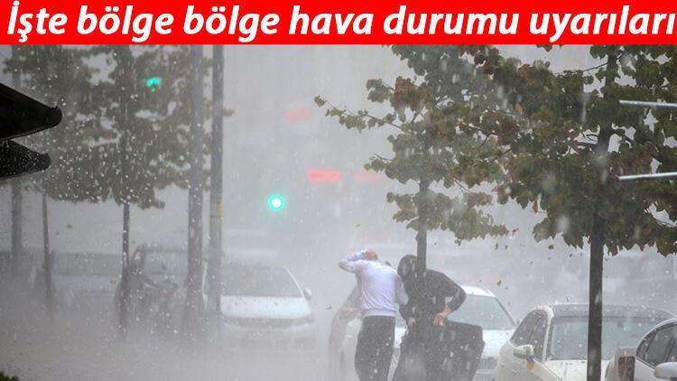 İstanbul için 'sarı' uyarı - Bugün hava nasıl olacak? MGM 10 Ocak il il hava durumu tahminleri