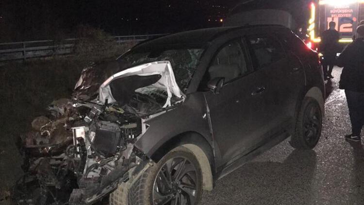 Otomobille traktör çarpıştı! 1 kişi öldü