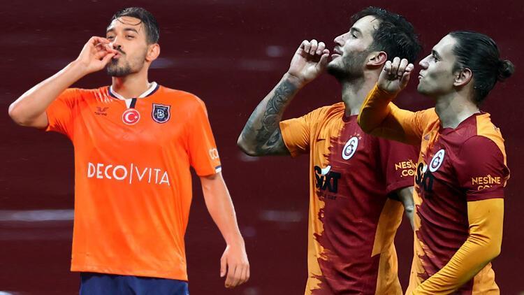 İrfan Can Kahveci, Taylan Antalyalı ve Oğulcan Çağlayan'dan dikkat çeken gol sevinci! Başakşehir'den yanıt geldi