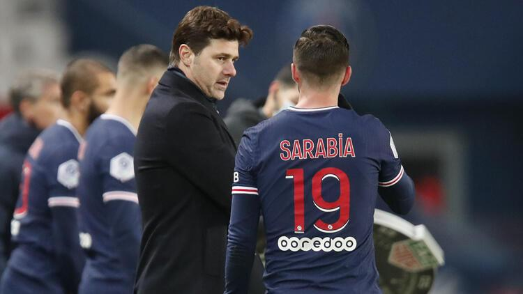 PSG, yeni teknik direktör Mauricio Pochettino ile ilk galibiyetini aldı