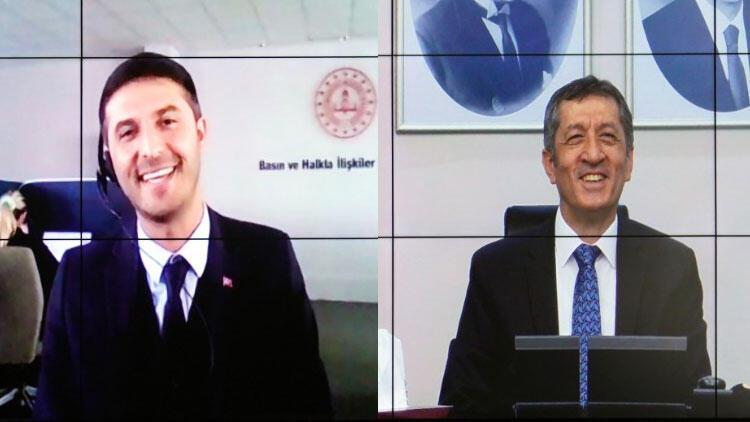 Bakan Selçuk, MEB çalışanı 'Ziya Selçuk' ile görüştü