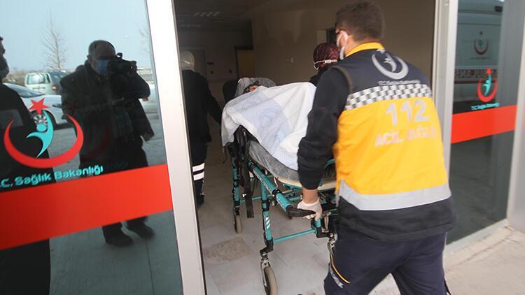 Konya'da dumandan etkilenen yaşlı kadının yardımına bu kez sağlık ekipleri yetişti