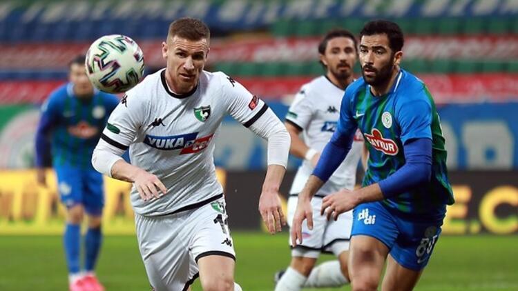 Rizespor 1-1 Denizlispor (Maç özeti ve golleri)