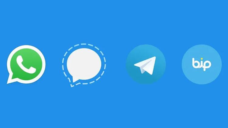 whatsap telegram bip ile ilgili görsel sonucu