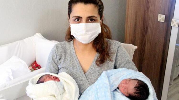 Koronavirüsü yendi, 3 gün sonra ikiz bebek dünyaya getirdi