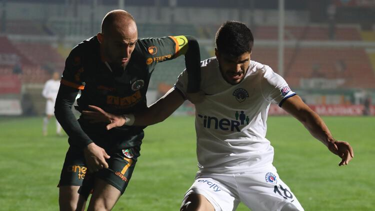 Alanyaspor 1-2 Kasımpaşa / Maç sonucu