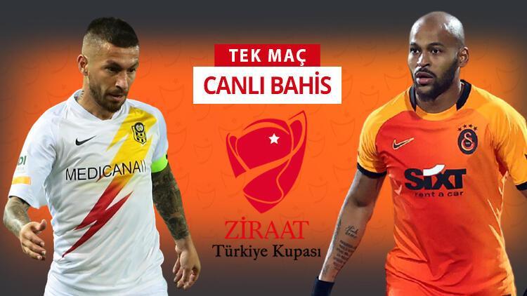 Galatasaray derbi öncesi kupa sınavında! Yeni Malatyaspor'a karşı iddaa'da galibiyetlerine...