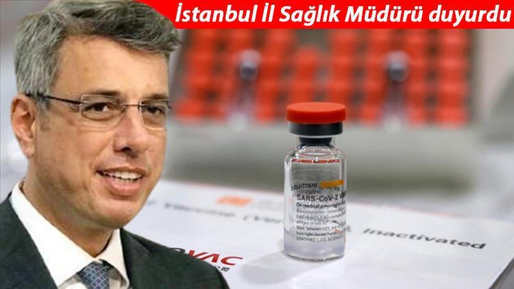 İstanbul İl Sağlık Müdürü Prof. Dr. Kemal Memişoğlu duyurdu! Koronavirüs aşısı için E-Nabız ve SMS...