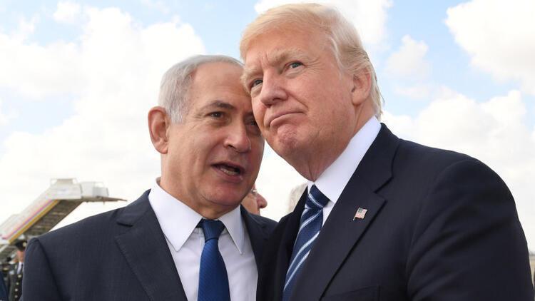 Trump'a bir darbe de Netanyahu'dan geldi!