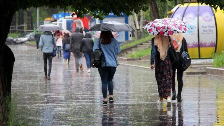 Ankara'da sağanak yağış uyarısı