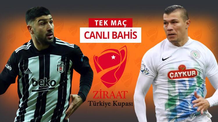 Beşiktaş derbi öncesi kupa virajında! Rizespor karşısında galibiyetlerine iddaa'da...