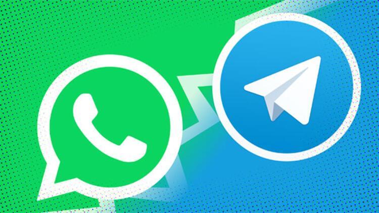 WhatsApp kan kaybetti, Telegram'ın yüzü güldü