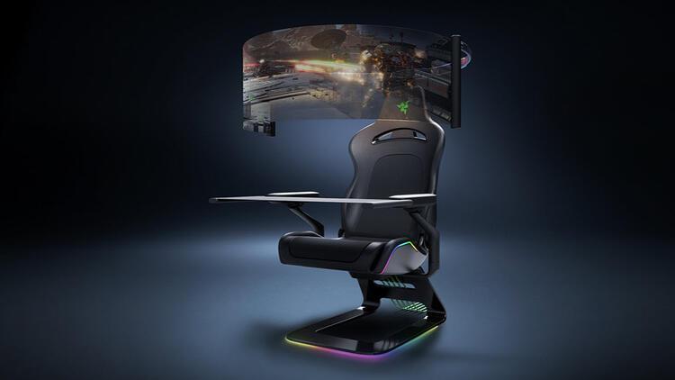 Razer, CES 2021'de yeni oyuncu koltuğunu tanıttı