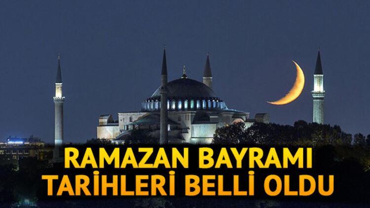 Ramazan Bayramı ne zaman? İşte 2021 Ramazan Bayramı tarihi