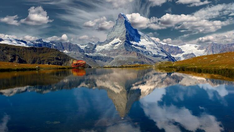 Dünyanın en fazla fotoğraflanan dağı Matterhorn