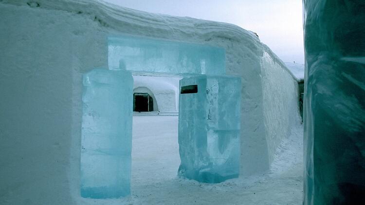İsveç'in sıra dış buz oteli