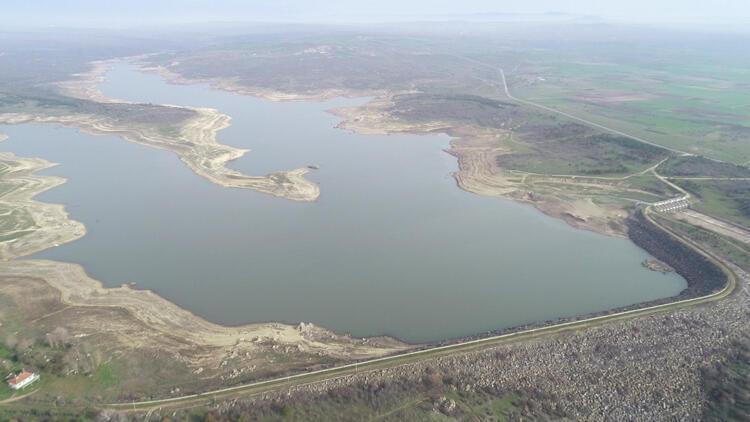 Son yağışlarla Edirne'de barajlara, 30 milyon metreküp su geldi