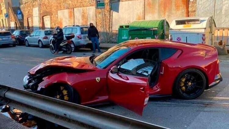 İtalyan futbolcunun korku dolu anları! Büyük tehlike...