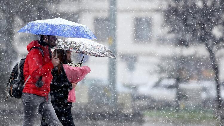 Ankara'da kar kenti beyaza bürüdü! Bugün kar yağacak mı? MGM 14 Ocak İstanbul, Ankara, İzmir ve il il hava durumu tahminleri