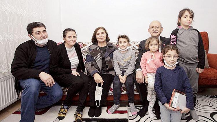 Kılıçdaroğlu çiftinden çocuklara tablet