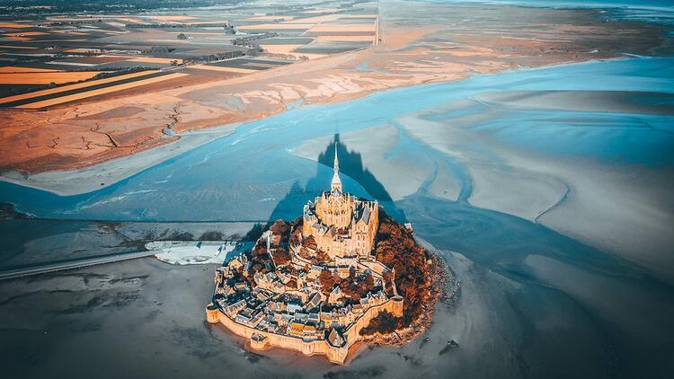 Fransa'nın masal diyarı: Le Mont Saint Michel
