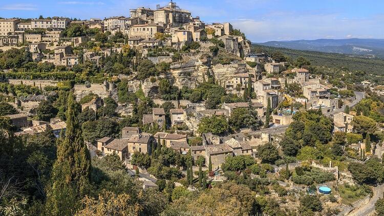 Avrupa'nın en büyüleyici köylerinden biri: Gordes
