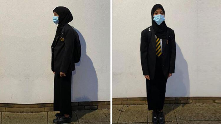Müslüman öğrenciye etek baskısı... 'Boyunu kısalt öyle gel'