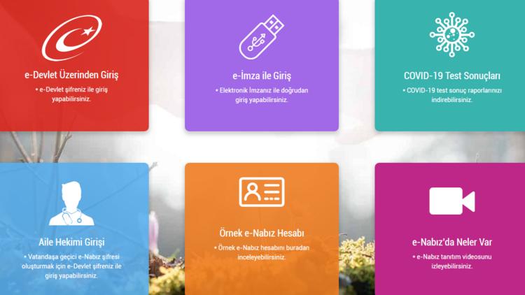 e-Devlet şifresi ile e-Nabız giriş ekranı: e-Nabız giriş nasıl yapılır?