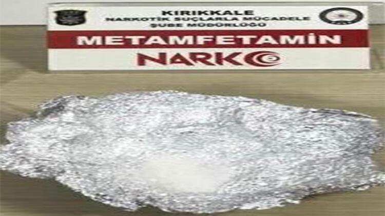 Kırıkkale'de uyuşturucu operasyonu: 2 tutuklama
